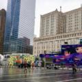 New York pluie