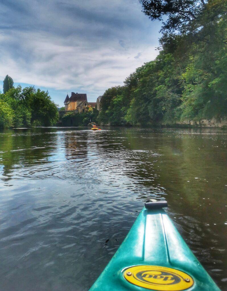 canoe dans le perigord